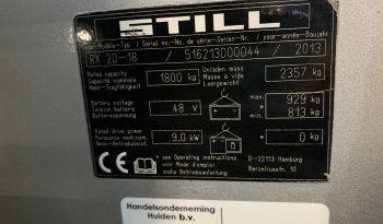 STILL RX20-18 Triplex Freelift Sideshift Incl Lader full