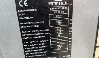STILL RX 20-20 full
